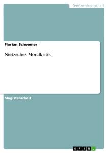 Schoemer Nietzsche