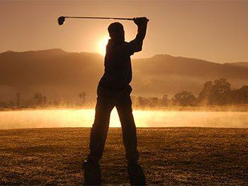 Golf ist Trumpf