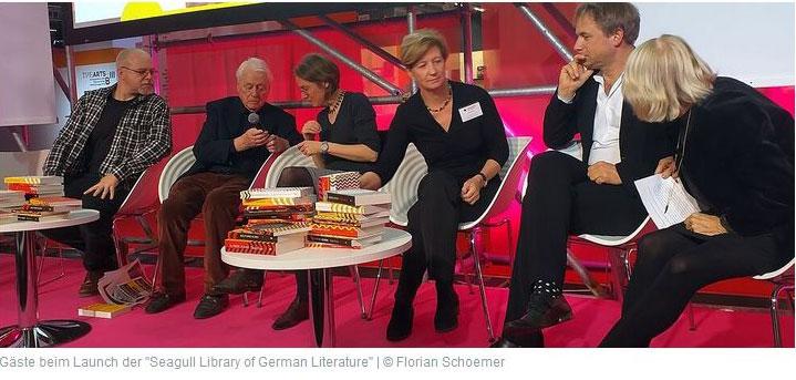 Artikel Schoemer über Kooperation Seagul und Goethe Institut
