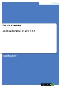 Schoemer MultiKulti USA