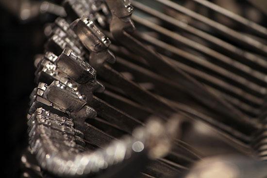 Bild: Alte Schreibmaschine